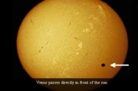 NASA y ESA transmitirán en vivo el tránsito del planeta Venus