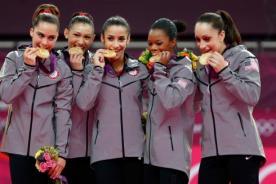 Olimpiadas 2012: Estados Unidos gana el oro en gimnasia femenina