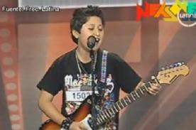 Perú Tiene Talento: Niño sorprende al tocar tema de los Guns N' Roses