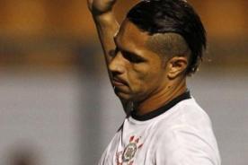 Paolo Guerrero podría perderse el Mundial de Clubes con Corinthians