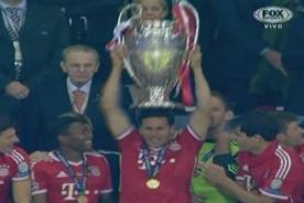 Final Champions League: Claudio Pizarro es campeón de Europa