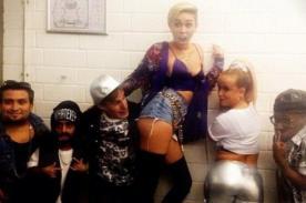 Miley Cyrus llevó el twerk a Alemania con 'We Can't Stop' - Video