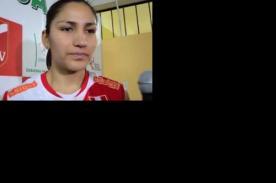 Angélica Aquino: Ante Argentina no se puede cometer errores