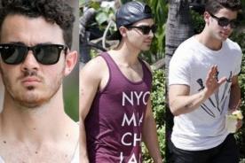 Jonas Brothers: Nick, Joe y Kevin disfrutan de Hawái - Fotos