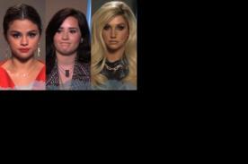 Video: Selena Gomez, Demi Lovato y KeSha leen tuits de gente que las odia