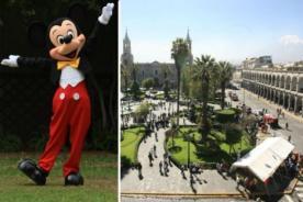 Mickey Mouse ya no será condecorado con medalla de oro en Arequipa