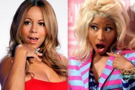 Mariah Carey sobre Nicki Minaj: Fue como ir a trabajar con Satanás