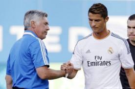 Carlo Ancelotti protestará si Cristiano Ronaldo no gana el Balón de Oro