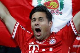 Bayern de Munich: Guardiola destaca labor de Claudio Pizarro