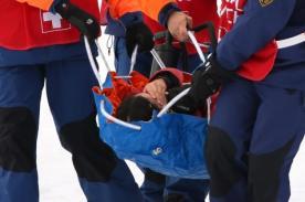 Sochi 2014: Esquiadora canadiense sufrió terrible caída