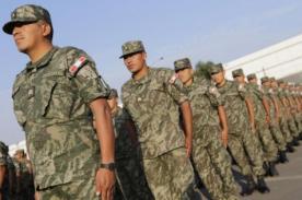 Solicitan Ejército peruano en las calles para erradicar delincuencia