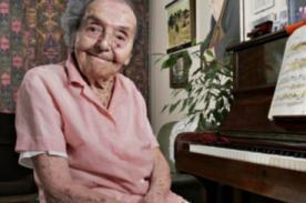 Londrés: Murió la sobreviviente más longeva del Holocausto