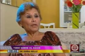 Irma Maury sobre AFHS: 'Doña Nelly' me parecía cargosa - VIDEO