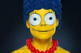 Fotógrafo logra 'traer a la vida' a la popular Marge Simpson - VIDEO