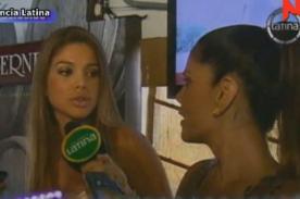 Vanessa Jerí y Sandra Arana se enfrentan en plena entrevista (Video)