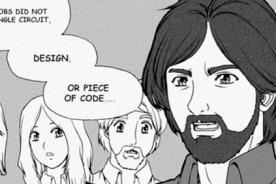 Harvard: Utilizan mangas para enseñar la historia de Apple - FOTOS