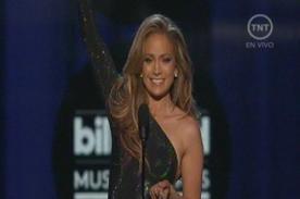 Billboard 2014: Jennifer Lopez dio emotivo discurso al ganar premio Ícono