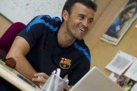Luis Enrique es nuevo entrenador del Barcelona