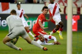 Amistoso Internacional: Suiza 2 - Perú 0