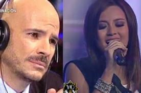 Yo Soy: Amy Gutiérrez emocionó hasta las lágrimas a Ricardo Morán [VIDEO]