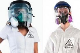 Halloween: Crean disfraz del Ébola para 'la noche de brujas' [FOTO]