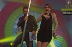 Gigi Mitre sorprende a todos bailando 'Mueve el toto' - VIDEO