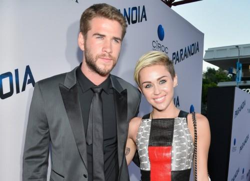 ¿Miley Cyrus se comprometió con Liam Hemsworth?