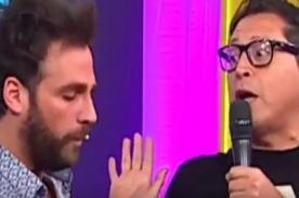 Amor, Amor, Amor: ¡Carloncho por poco hace llorar a Peluchín diciéndole todas sus verdades! - FOTO