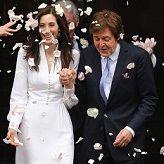 Paul McCartney contrajo matrimonio con Nancy Shevell