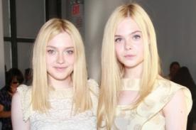 Dakota Fanning: Quisiera ser más como mi hermana