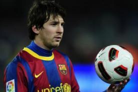 Lionel Messi aceptó que de niño era egoísta