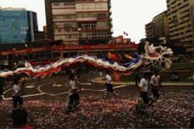 Corso Wong 2012: Dragones chinos desfilan por calles de Miraflores