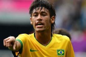 Neymar: Quiero hacer historia ganando el oro en Londres 2012