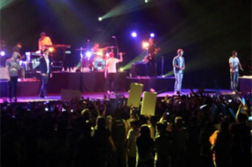 The Wanted causó furor durante concierto en Indonesia
