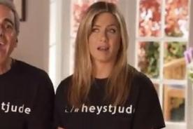 Video: Jennifer Aniston, Juanes y Ellen Degeneres cantan Hey Jude