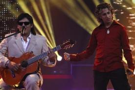 Yo soy, la revancha: José Feliciano y David Bisbal enamoran con dúo - Video