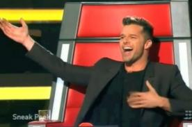 Video: Ricky Martin en un adelanto de The Voice Australia