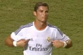 VIDEO: Cristiano Ronaldo y su indirecta a Mourinho - Real Madrid vs Chelsea