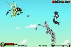 Friv: Juego de Ben 10 Sky Battle gratis en NetJoven