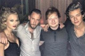 Taylor Swift y Harry Styles posaron juntos tras los MTV VMA 2013