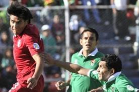Perú vs Bolivia en vivo por CMD - Eliminatorias Brasil 2014