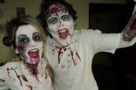 Diseña tu propio disfraz de zombie para Halloween