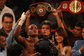 Resultado de la pelea: 'Pantera' Zegarra venció a Basilio Silva por polémico KO