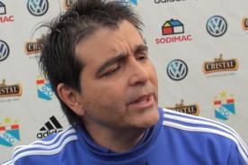 Sporting Cristal: Claudio Vivas se disculpó por discusión con periodista