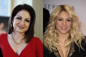 Gloria Estefan: Shakira grabó disco 'Landry Service' sin saber hablar inglés