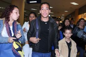 Selección peruana llegó a Bilbao para afrontar amistoso ante País Vasco