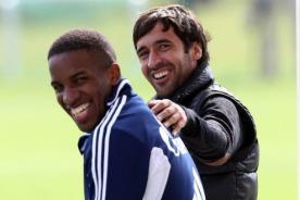 Schalke 04: Raúl visitó a Jefferson Farfán durante pretemporada