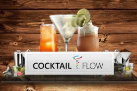 Aplicaciones para el verano: Con Cocktail Flow puedes preparar cocteles