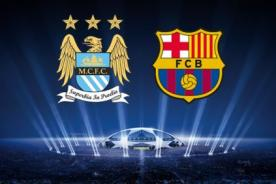En vivo: Manchester City Vs FC Barcelona por ESPN - Champions League