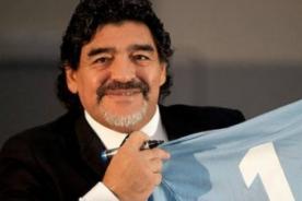 Periodista argentino pide perdón a Venezuela por apoyo de Maradona a Maduro